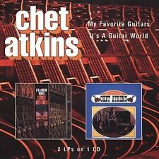 Sealed CHET ATKINS CD - My Favorite Guitars / It's a Guitar World (1998 One Way)