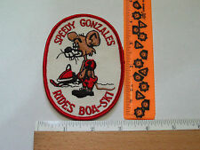 Boa Ski Snowmobile Patch Vintage Speedy Gonzales Patch (#1480)