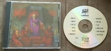 DEATH Scream Bloody Gore 1st US Press CD! Gorguts Monstrosity Pestilence Cynic