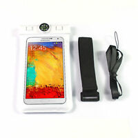 WATERPROOF BAG POUCH CASE FOR DRY MOBLE PHONE IPHONE 4S 5S 6 6+ CAMERA TOUCHABLE