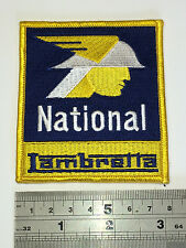 National Lambretta - Embroidered, Iron or Sew On