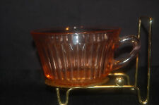 Vintage Hocking Pink Queen Mary Cup - Depression Glass