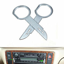 2pcs Car SUV Radio Stereo Removal Tools Trim Installation Tool For VW Audi Benz