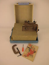 Vintage Singer Sewhandy Model 20 Sewing Machine in Original Blue Case