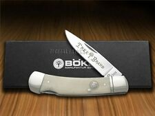 BOKER TREE BRAND Traditional Series Smooth White Bone Lockback Pocket Knife