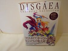 Disgaea Character Collection Book Japanese Hardback Dust Cover