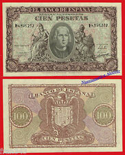ESPAÑA SPAIN 100 Pesetas 1940 CRISTOBAL COLON Pick 118 SC / UNC