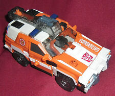1 ROBOT TRANSFORMERS ARMADA-AUTOBOT/RED ALERT energon,cybertron,ironhide,inferno