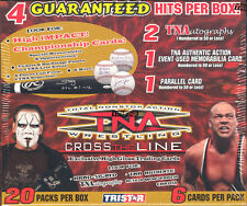 2008 TRISTAR TNA CROSS THE LINE WRESTLING BOX BLOWOUT CARDS