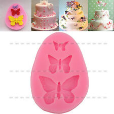 New Silicone Butterfly Shape Fondant Mold Cake Decorating Baking Mould DIY