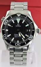 OMEGA SEAMASTER 2262.50 PROFESSIONAL MIDSIZE BLACK SWISS QUARTZ BOND MENS WATCH