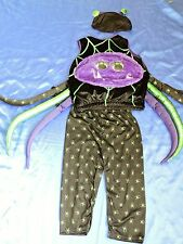 Halloween Scary Spider fancy dress up BNWT 3-4yrs Boys Kids Costume Googly Eyes!