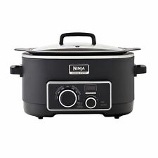 Ninja 3-in-1 6-qt. Cooking System Crock Pot Slow Cooker NEW!!