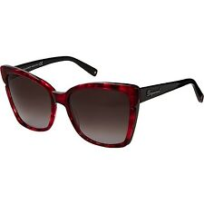 DSQUARED2 Red Tortoiseshell Oversize Square Sunglasses