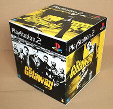 The Getaway video game promo Game Store Display Box Würfel Playstation 2