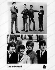 8x10 Print The Beatles Capitol Records #BE7673