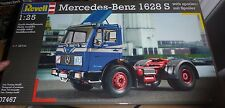 REVELL GERMANY BENZ MERCEDES 1628S TRACTOR 1:25 TRUCK Model Car Mountain KIT FS