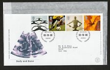 GB 2000 FDC Body and Bone , Philatelic Bureau Edinburgh postmark stamps