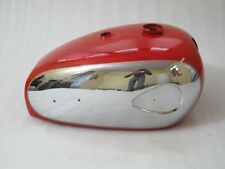 NEW BSA A7 A10 SUPER ROCKET RED PAINTED CHROMED GAS FUEL PETROL TANK @VINTAGE
