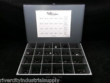 METRIC COARSE THREAD BOLT NUT & WASHER ASSORTMENT 1000pc GRADE 10.9 PLAIN FINISH