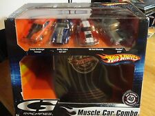 Hot Wheels 40th Anniversary (4) G Machines Car Boxed Set w/HW's Cap