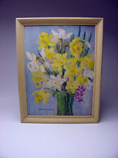 LISTED KATHERINE EAMES floral still life painting MASSACHUSETTs BUY IT NOW