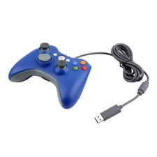 USB Wired Joypad Gamepad Controller For Microsoft Xbox&Slim 360 PC Windows7 LUU