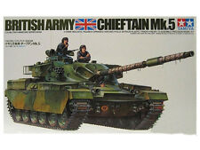 TAMIYA British Chieftain Mk 5 Tank Model Kit 1/35