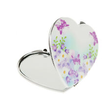 WOMENS POCKET HANDBAG COMPACT MAKEUP COSMETIC MIRROR TRAVEL FOLDING FOLDABLE