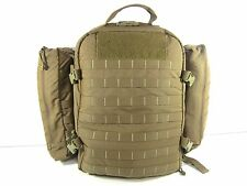 North American Rescue Medic Trauma Backpack CCRK, Combat Response Kit Coyote Bag