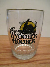 """Jack Daniels WYOOTER HOOTER w/ 7Up Recipe Mix 4"""" Glass"""