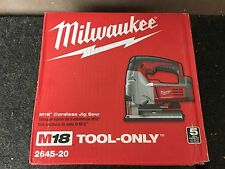 M18 Cordless Jig Saw Milwaukee 2645-20 Bare Tool Only