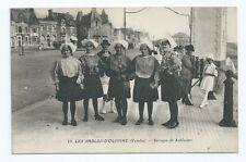 CPA-85 Les Sables d'Olonne - Groupe de Sablaises