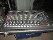 DDA CS3-24 CHANNEL AUDIO MIXING CONSOLE DEMO IN ROAD CASE