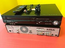 Panasonic DMR-EZ485V VHS/DVD Recorder Player With Remote DMR-EZ48 VCR DVD Combo