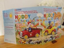 VINTAGE CORGI  NODDY AND FRIENDS 801 1st,VERSION OF ORDER FORM VERY RARE FIND.