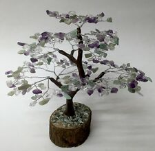 Gem Tree Fluorite Gem Tree Fluorite Gemstone Tree Wire Wrapped Tree Feng Shui.