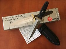 BOKER APPLEGATE-FAIRBAIRN COMBAT KNIFE 120546 440C STEEL NEW in BOX