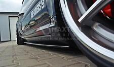 SIDE SKIRTS SPLITTERS (GLOSS BLACK) AUDI S8 D3 (2006-2010)