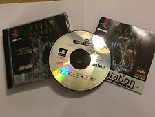 SONY PS1 PLAYSTATION 1 GAME ALIEN TRILOGY +BOX & INSTRUCTIONS / COMPLETE PAL GWO