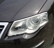 VW VOLKSWAGEN PASSAT B6 2005-10  CHROME HEADLIGHT TRIM