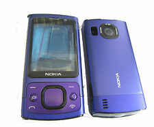 For Nokia 6700s 6700 Slide Fascia Housing Face Plate Battery Cover Keypad Purple
