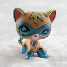 Littlest Pet Shop Comic Con Masked Superhero Shorthair Kitty Cat