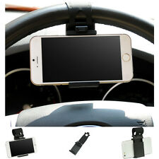 SOPORTE VOLANTE COCHE GPS TOMTOM MP4 Smartphone Movil PDA iPhone 5 4S 4 Gala