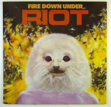 "12"" LP - Riot - Fire Down Under - C1738 - washed & cleaned"