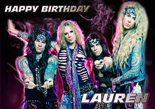 PERSONALISED STEEL PANTHER BIRTHDAY CARD