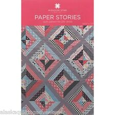 Quilt Pattern ~ PAPER STORIES ~ by Missouri Star Quilt Co.