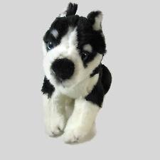 """Disney Snow Buddies Shasta Plush Dog Puppy Black White Rewards 7"""" Husky"""