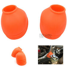 Universal Motorcycle Foot Peg Cover Motocross Protector For Off Road Dirt Bike