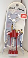 NEW! Red Wing Style CORKSCREW Good Cook Wine ITALY Bar DRINK Open BOTTLE